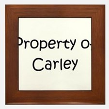 Unique Carley Framed Tile