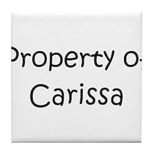 Carissa Tile Coaster