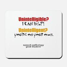 UNINTELLIGIBLE/UNINTELLIGENT Mousepad