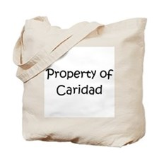 Funny Caridad Tote Bag