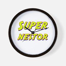 Super nestor Wall Clock