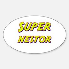Super nestor Oval Decal