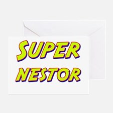 Super nestor Greeting Card