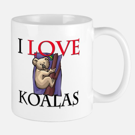 I Love Koalas Mug