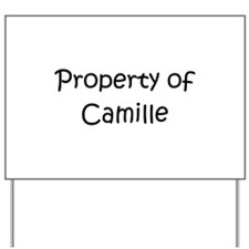 Funny Camille Yard Sign
