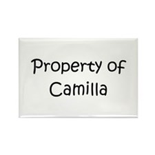 Funny Camilla Rectangle Magnet