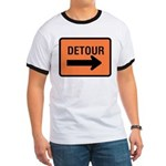 Detour Sign Ringer T