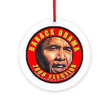 Obama's Souvenir Ornament (Round)