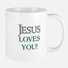 Jesus Loves You Small Mugs