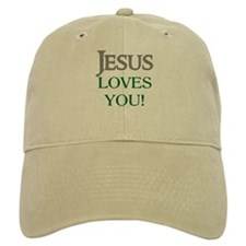 Jesus Loves You Baseball Cap