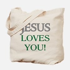 Jesus Loves You Tote Bag