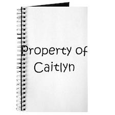 Unique Caitlyn Journal