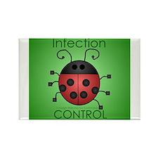 IC Ladybug Rectangle Magnet