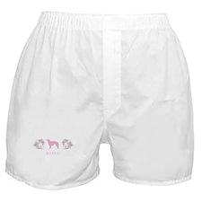 """""""Elegant"""" Borzoi Boxer Shorts"""
