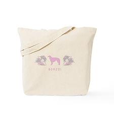 """""""Elegant"""" Borzoi Tote Bag"""