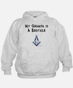 Grampa is a Brother Hoodie