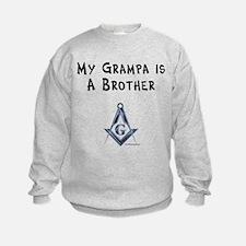 Grampa is a Brother Sweatshirt