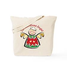 LIL' CHRISTMAS ANGEL Tote Bag