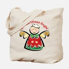 LIL' CHRISTMAS ANGEL Tote Bag