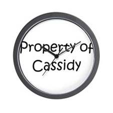 Cool Cassidy Wall Clock