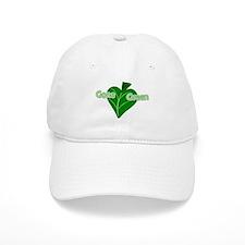 Gone Green Leaf Baseball Cap