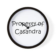 Casandra Wall Clock
