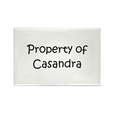 Funny Casandra Rectangle Magnet