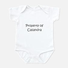 Funny Casandra Infant Bodysuit