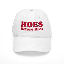 Hoes Before Bros Baseball Cap