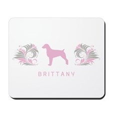 """Elegant"" Brittany Mousepad"