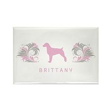 """""""Elegant"""" Brittany Rectangle Magnet"""