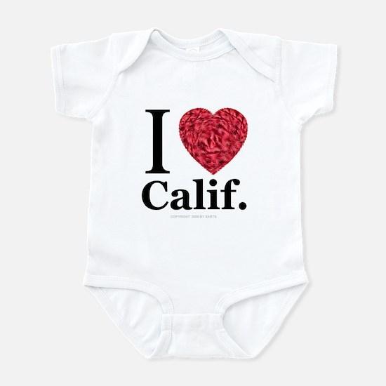 I Love Calif. Infant Creeper