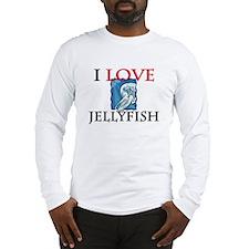I Love Jellyfish Long Sleeve T-Shirt