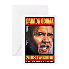 Barack Obama's Souvenir Greeting Card