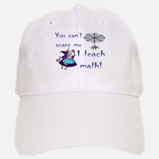 I teach math Baseball Baseball Cap