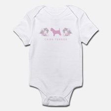 """""""Elegant"""" Cairn Terrier Infant Bodysuit"""