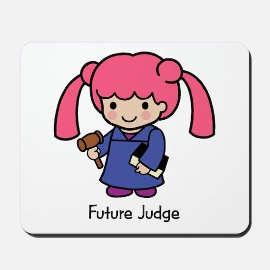 Future Judge - girl Mousepad