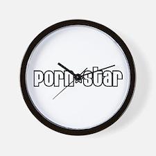 PornStar Wall Clock