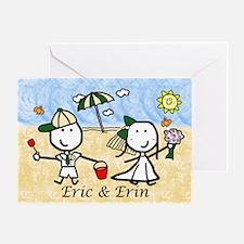 Wedding - Eric & Erin Greeting Card