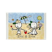 Wedding - Eric & Erin Rectangle Magnet