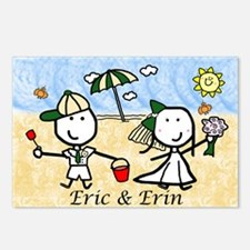 Wedding - Eric & Erin Postcards (Package of 8)