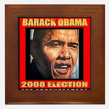 Barack Obama's Souvenir Framed Tile