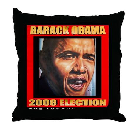 Barack Obama's Souvenir Throw Pillow