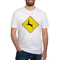Deer Crossing Sign Shirt