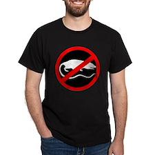 """""""No Rats"""" Black T-Shirt"""
