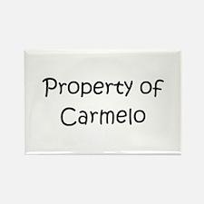 Unique Carmelo Rectangle Magnet