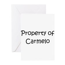 Unique Carmelo Greeting Cards (Pk of 20)