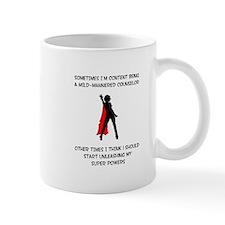 Counseling Superheroine Small Mug