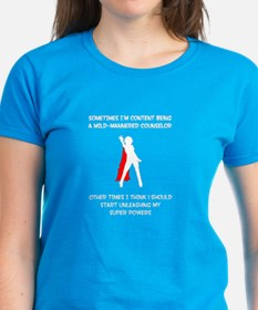 Counseling Superheroine Tee