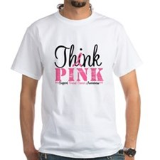 Think Pink Breast Cancer Shirt